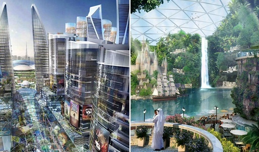 Worlds first climate-controlled domed city to be built in Dubai