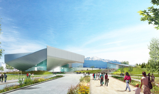 First glimpse at Diller Scofidio + Renfro's prelim designs for U.S. Olympic Museum in Colorado