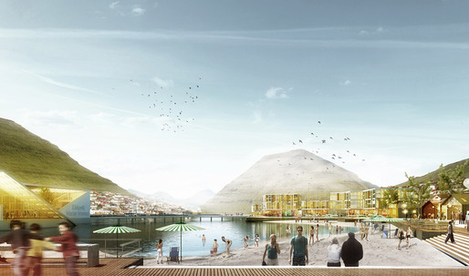 Henning Larsen Architects Wins City Development Competition in the Faroe Islands