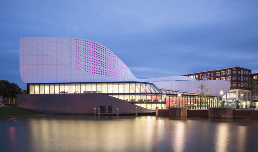 A closer look at UNStudio's new Theatre de Stoep in Spijkenisse, The Netherlands