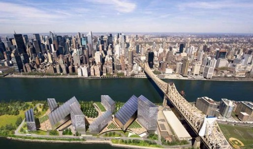 Morphosis to Design First CornellNYC Tech Building on Roosevelt Island