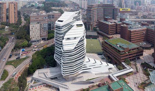 Zaha Hadid's Jockey Club takes RIBA's award for International Excellence