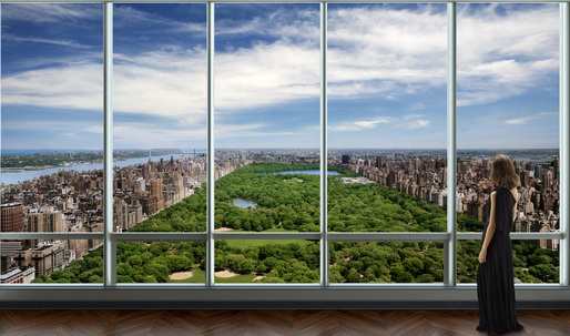 $100M Condo Sale at Christian de Portzamparc's One57 is NYC's Most Expensive Ever