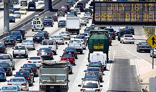 405 Freeway closure exposes the limits of Los Angeles' mobility