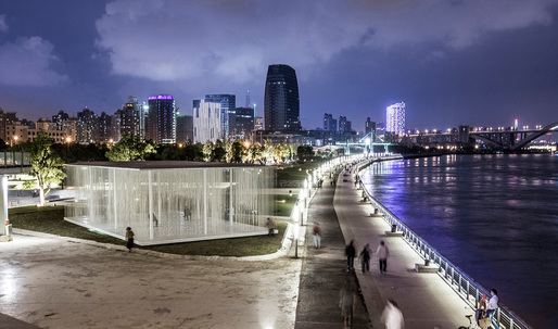 The Cloud pavilion by schmidt hammer lassen architects opens at Shanghai West Bund Biennial