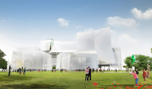 SANAA wins Taichung City Cultural Center competition