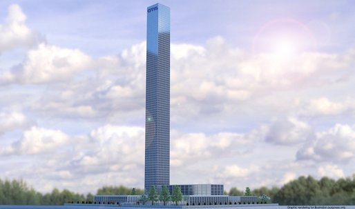 World's tallest elevator tower is going up