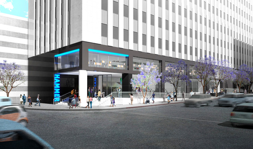 Michael Maltzans renderings of the expanded Hammer Museum reveal cautious, yet possibly ebullient design