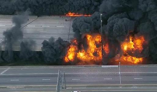 Georgia Gov. Nathan Deal declares state of emergency after I-85 bridge in Atlanta collapses from fire
