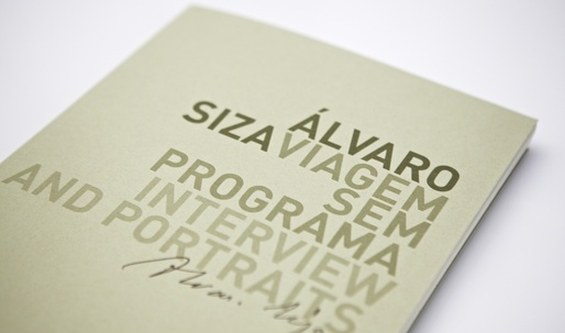 "Win a copy of the reprinted ""ÁLVARO SIZA. VIAGEM SEM PROGRAMA"""