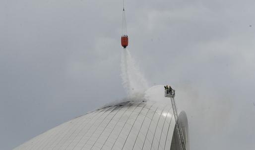 Fire at Zaha Hadid's Heydar Aliyev Center in Baku: no damage