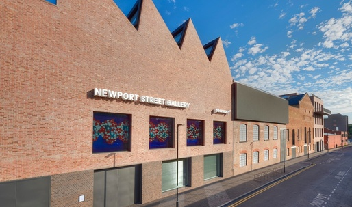 Damien Hirst's surprisingly restrained gallery space opens in London today