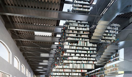 Stacked: Archinects comparison of Fujimoto and Tschapellers library stacks