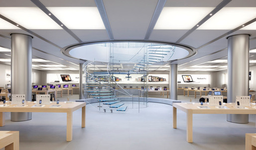 Apple trademarks design of its retail stores