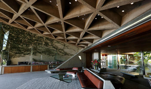 Lautners Sheats-Goldstein house is to be donated to LACMA