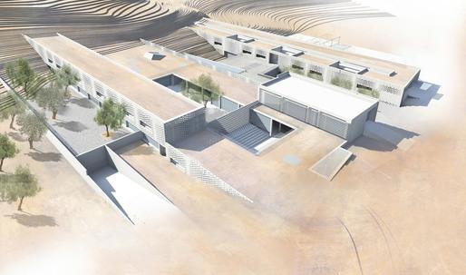 Crete Innovative Bioclimatic European School Complex - 2nd Place Entry