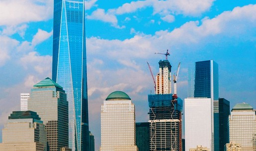 3 World Trade Center celebrates topping out