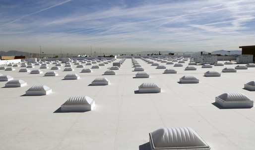 Cool roofs substantially reduce temperatures during a heat wave, according to new study