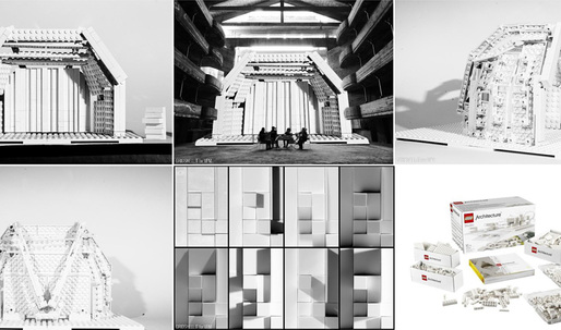 LEGO Architecture launches new student acoustic-design challenge to restore a destroyed music theater
