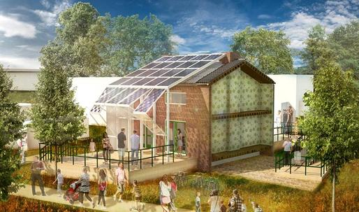 Saving face: Prêt-à-Loger designs solar-powered skin to preserve Dutch row houses