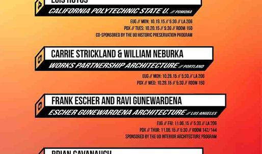 Get Lectured: University of Oregon, Fall '15
