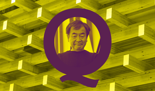 The Proust Questionnaire: Kengo Kuma