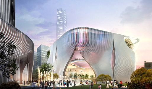 Bing Thom & Ronald Lu Chosen to Design Xiqu Centre at West Kowloon Cultural District