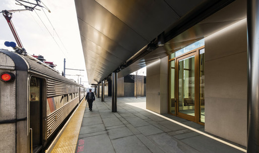 First Look at Rick Joy's Princeton Train Station