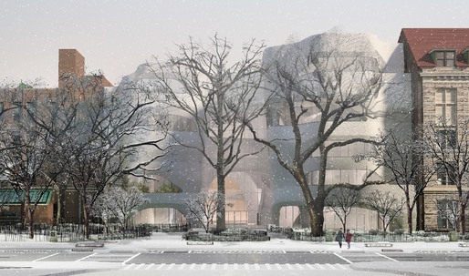 Landmarks reveals new renderings for Studio Gang's Natural History Museum expansion project