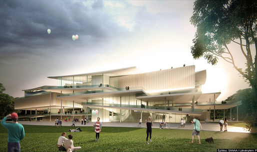 First glimpse: SANAA wins over Snøhetta for Budapest's new National Gallery + Ludwig Museum