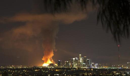 "Arson suspect arrested in connection with downtown LA ""Da Vinci"" fire"