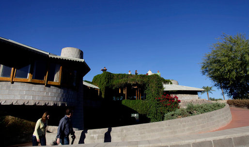 "The cost of living in a ""landmark status"" Frank Lloyd Wright home"