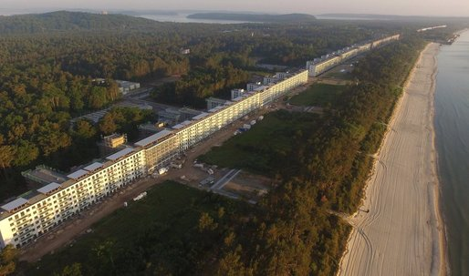 2.7-mile-long abandoned Nazi resort is getting transformed into luxury housing