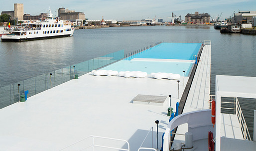The Badboot Lido Opens in Antwerp