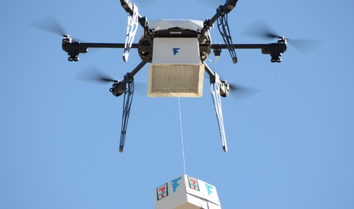 7-Eleven becomes first retailer to employ drone delivery