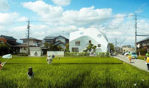 MAD blurs boundaries with the Clover House kindergarten and teacher housing
