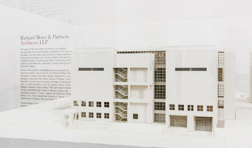 """Process and Vision"" showcases the work of Richard Meier at the Chicago Architecture Biennial"