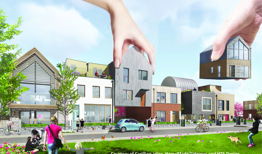 100 renderings of ideas to solve Londons housing crisis released