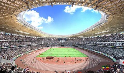 Kengo Kuma selected for new Tokyo Olympic Stadium
