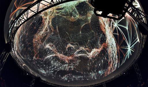 "Take a virtual reality tour of ""different planes of the digital and physical universe"""