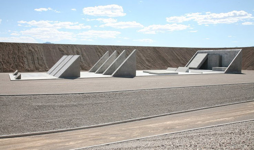 "Michael Heizer's massive desert sculpture, ""City"", will make you cry"