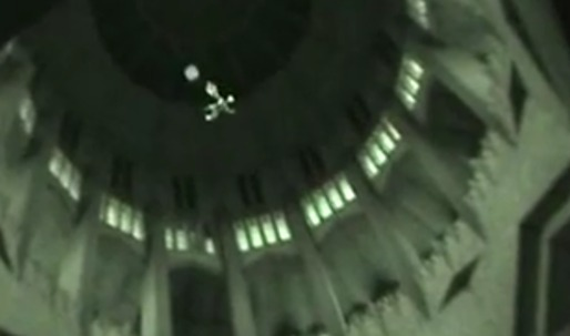 Base jumping inside the Koekelberg Basilica!