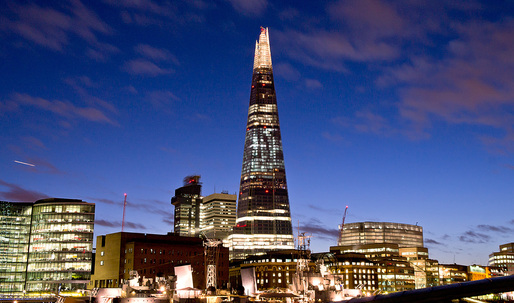 Renzo Piano's The Shard wins Emporis Skyscraper Award