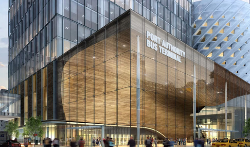 NYC Port Authority releases 5 design proposals for new bus terminal