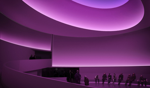 Coming this June: James Turrell Reimagines FLW's Guggenheim Rotunda