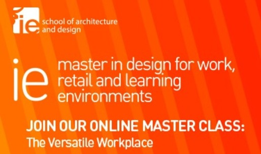 "Join the Online Master Class ""The Versatile Workplace"", hosted by Primo Orpilla and Verda Alexander (Studio O+A)"