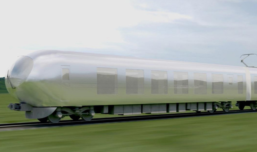 "Kazuyo Sejima envisions ""camouflaged"" design for Seibus new bullet train"