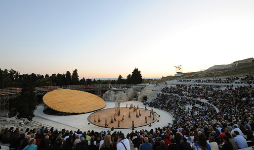OMA's Stage Set for the Ancient Greek Theater in Syracuse, Italy
