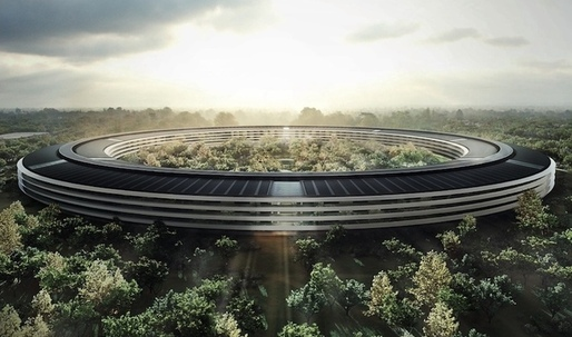 Apples spaceship campus being built to iPhone standards