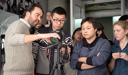Iwan Baan drops in at the GSD to give impromptu photo workshop